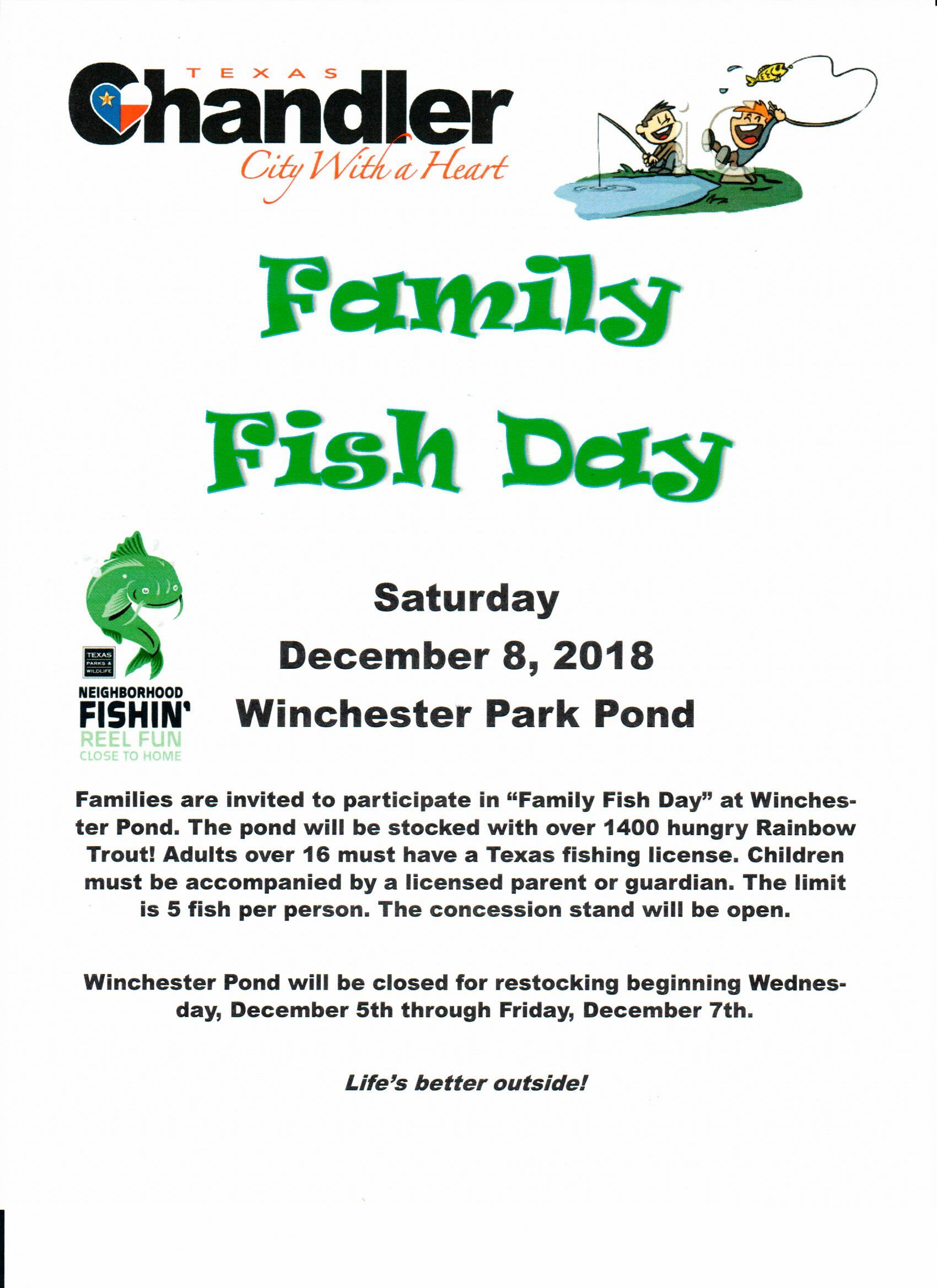 Family Fish Day Flyer